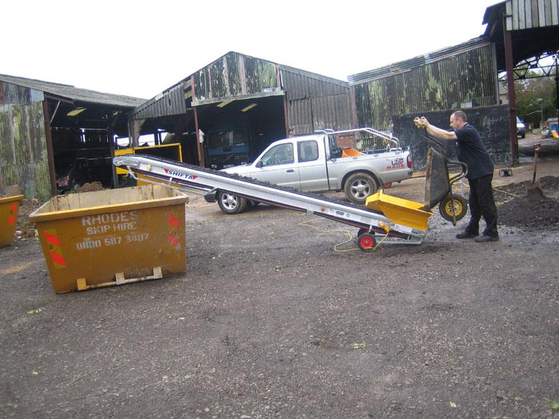 4 5m Shifta Conveyor Akro Multihire