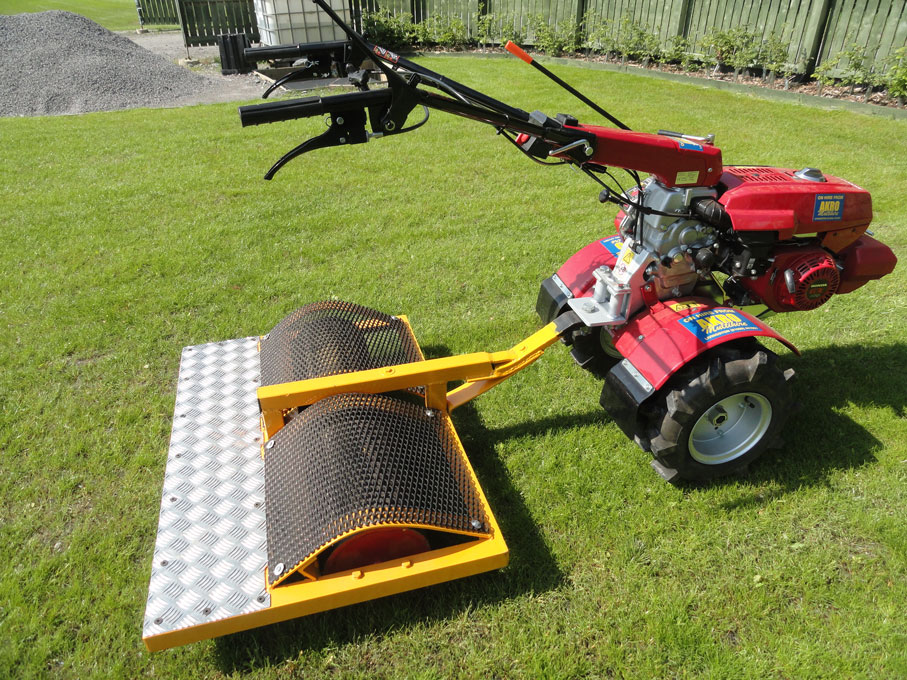Powered Garden Roller AKRO Multihire