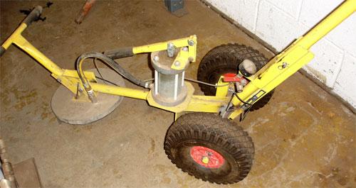 Trolley Vacuum Slab Lifter Akro Multihire