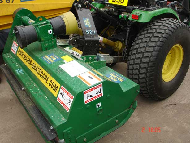 Major flail mower ( tractor attachment) - AKRO Multihire