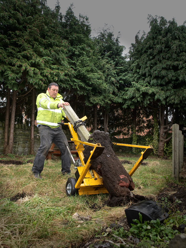 Fence Post Remover Akro Multihire